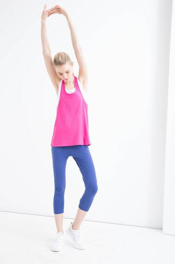 Stretch cotton gym pants