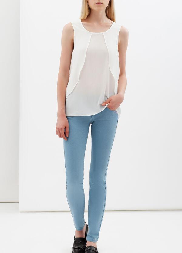 Sleeveless frilled blouse | OVS