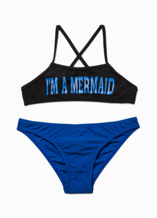 Bikini with printed lettering | OVS