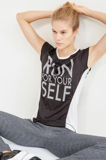 OVS Active Sport Training T-shirt, Black, hi-res