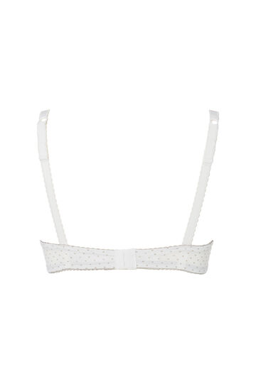 Reggiseno push up fantasia, Bianco, hi-res