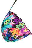 Stretch printed triangular top, Multicolour, hi-res