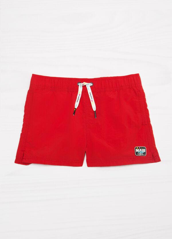 Maui and Sons plain colour swim boxer shorts   OVS