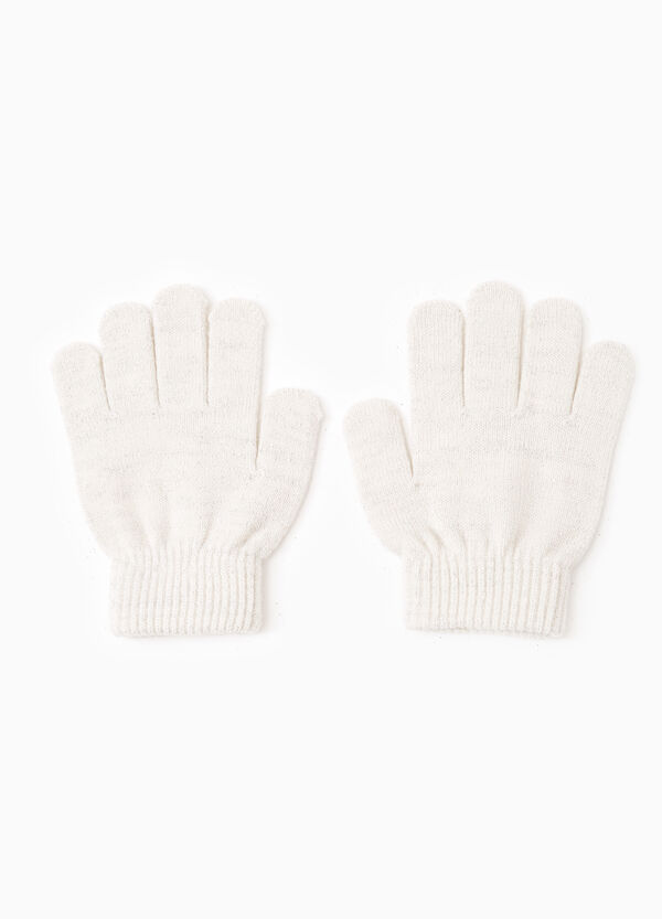 Solid colour knitted gloves | OVS