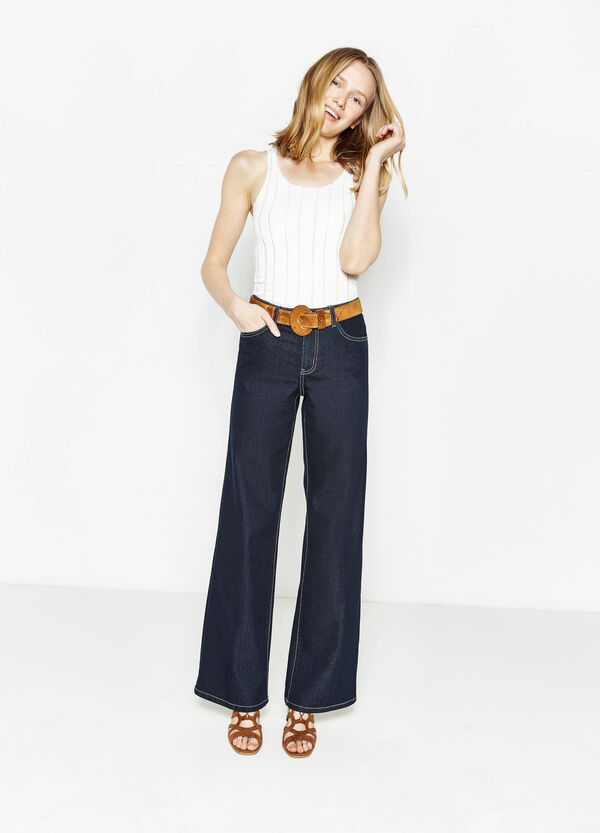 Jeans flare fit stretch | OVS