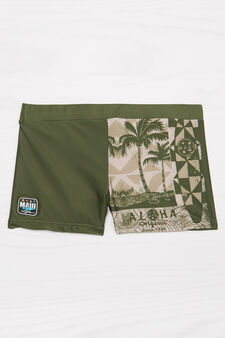 Boxer mare stretch Maui and Sons, Verde militare, hi-res