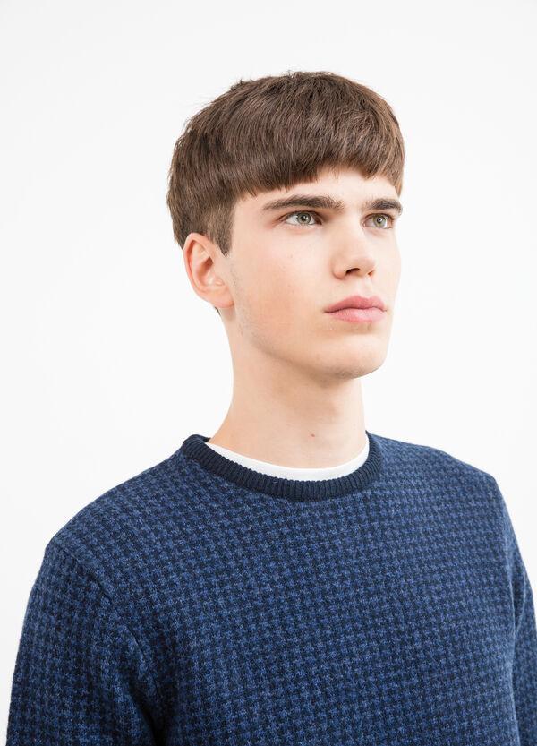 Jersey en punto tricot con estampado | OVS
