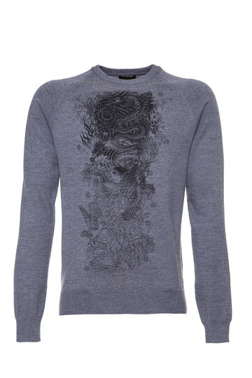Tricot Jean Paul Gaultier for OVS, Grigio, hi-res