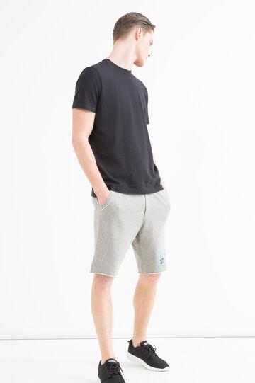 G&H Bermuda shorts 100% cotton, Grey Marl, hi-res