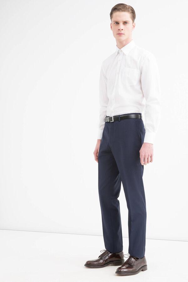 Elegant, viscose blend trousers | OVS