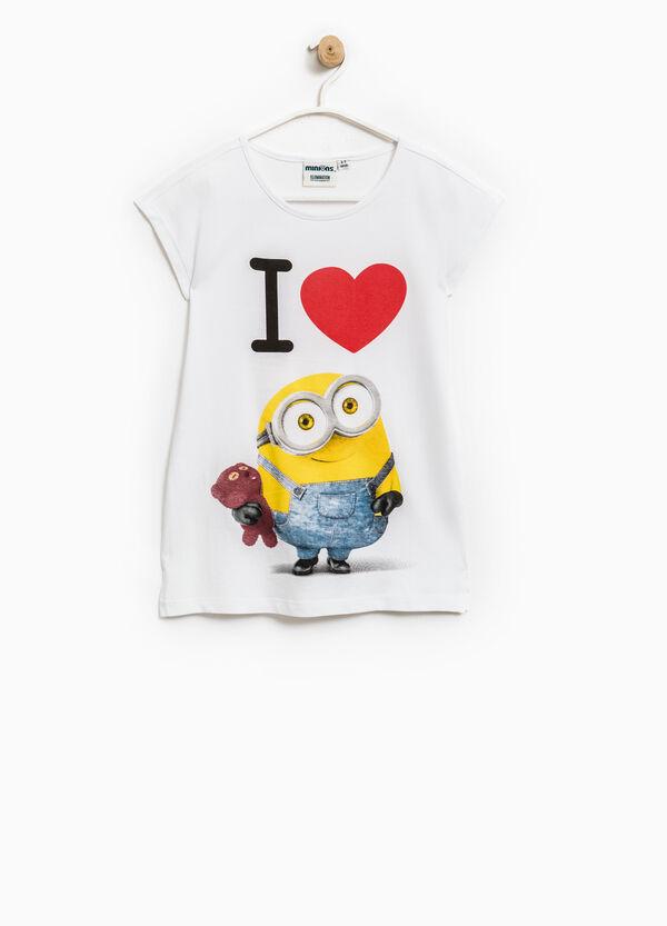 Minions print cotton T-shirt | OVS