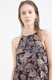 Patterned sleeveless blouse, Multicolour, hi-res