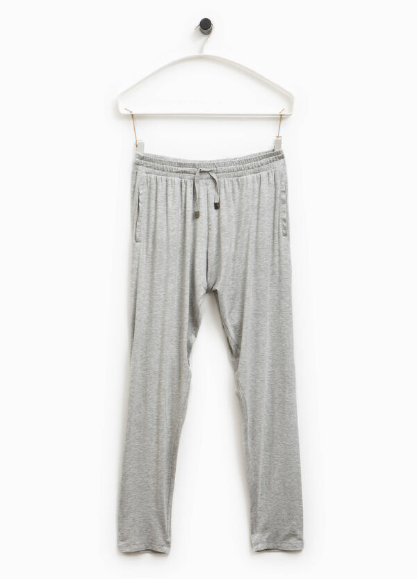 Pantaloni tuta viscosa Smart Basic | OVS