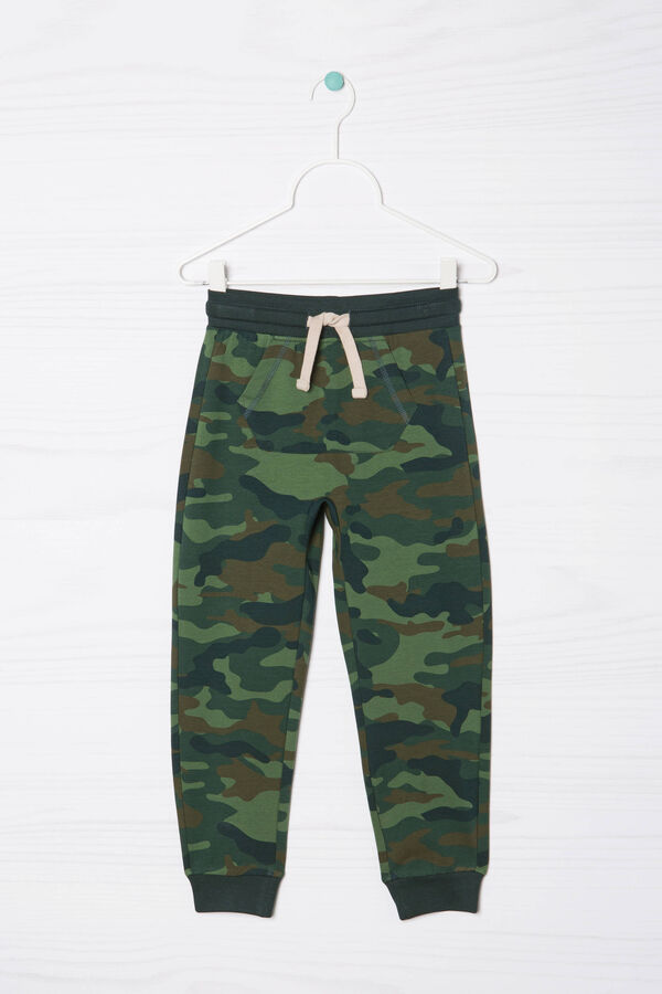 Stretch camouflage joggers | OVS
