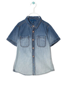 Denim shirt, Denim Blue, hi-res