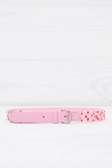 Stretch belt with star pattern