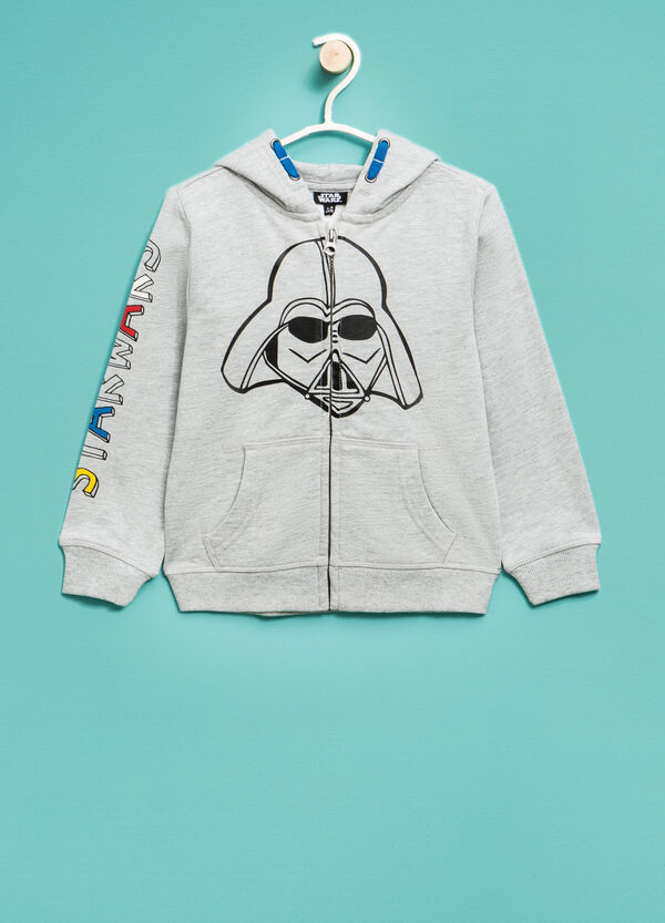 Star Wars printed cotton hoodie | OVS