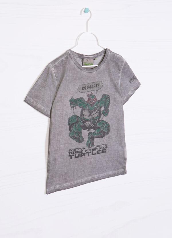 T-shirt stampa Ninja Turtles cotone | OVS
