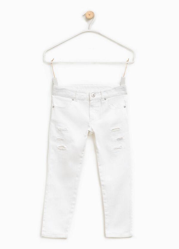 Pantalón con roces y cuentas | OVS