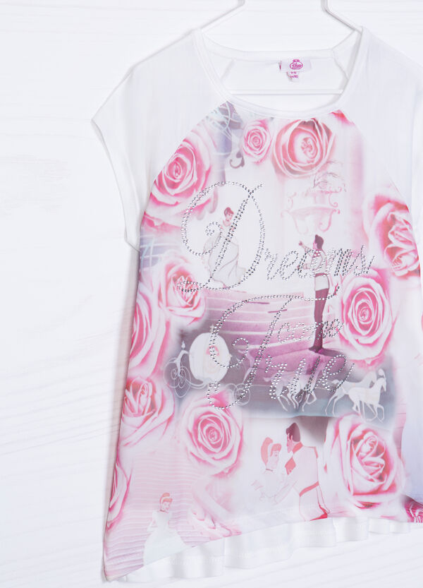 100% viscose T-shirt with Disney print | OVS
