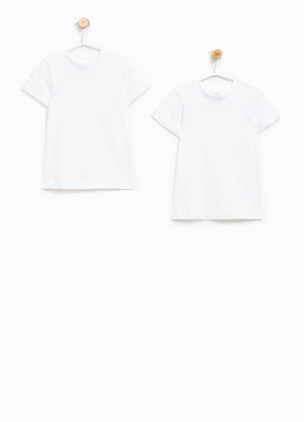 Two-pack cotton undershirts | OVS