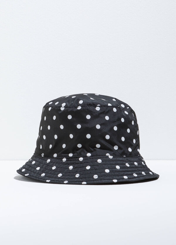Polka dot patterned fishing hat | OVS