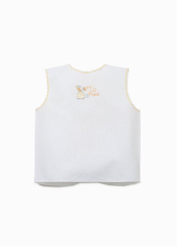 Blusa recién nacido con bordados | OVS