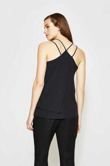 Top with double shoulder straps