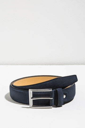 Cintura vera pelle scamosciata