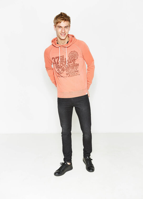 G&H sweatshirt in cotton with print | OVS