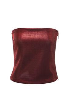 Jersey top, Jean Paul Gaultier for OVS, Red, hi-res