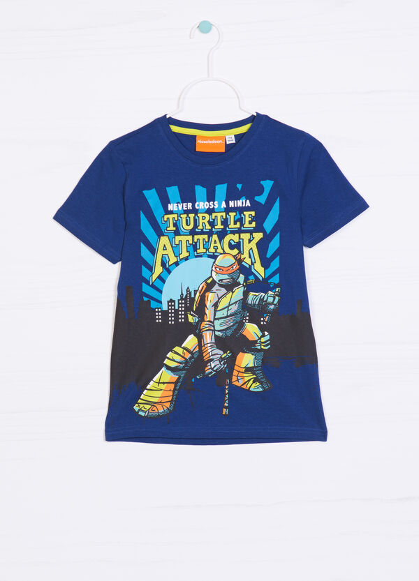 T-shirt cotone stampa Ninja Turtles   OVS