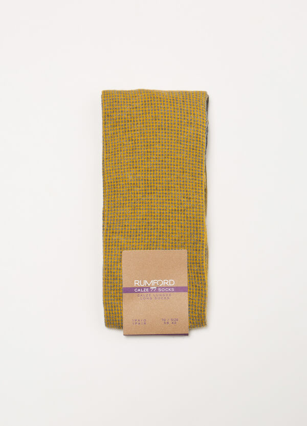 Rumford long cotton blend socks | OVS