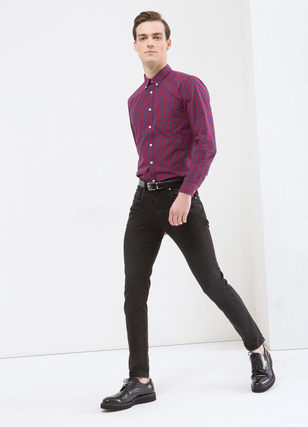 Checked shirt with pocket | OVS