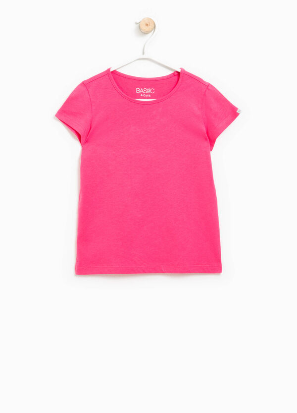 T-shirt with cap sleeves   OVS