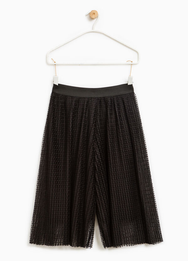 Pleated palazzo trousers | OVS