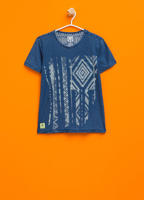 T-shirt mélange con stampa | OVS