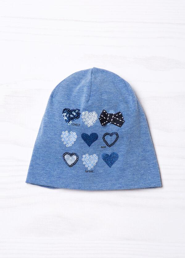 Sequinned beanie cap | OVS
