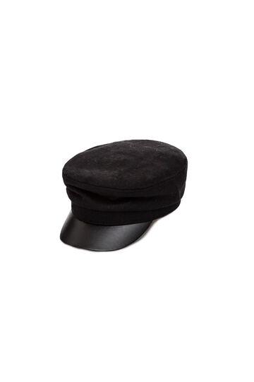 Cappello con visiera, Black, hi-res