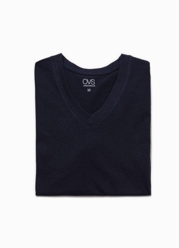Camiseta interior con cuello de pico | OVS
