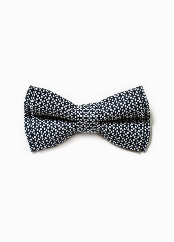 Patterned bow tie in cotton | OVS