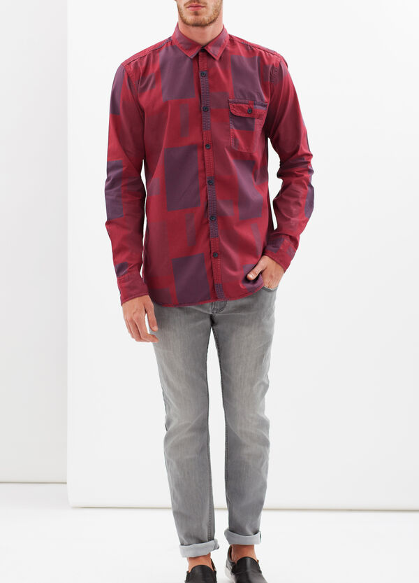 Check shirt with pockets | OVS