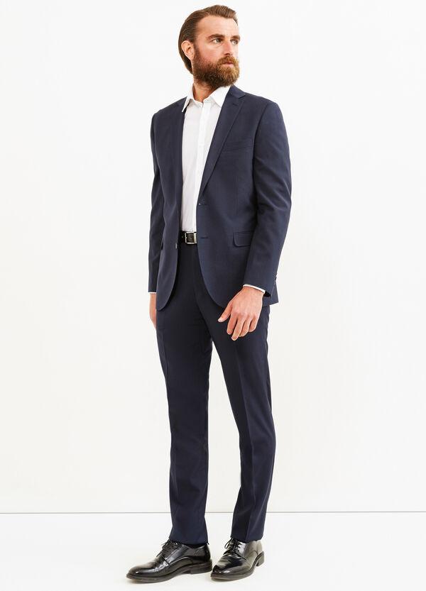 Elegant, regular-fit, stretch suit   OVS