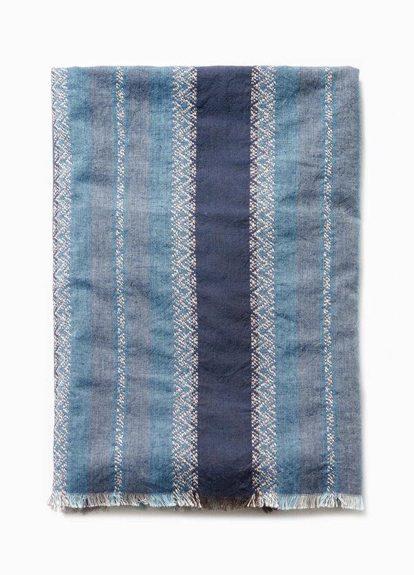 Bufanda en algodón 100% con fantasía G&H | OVS