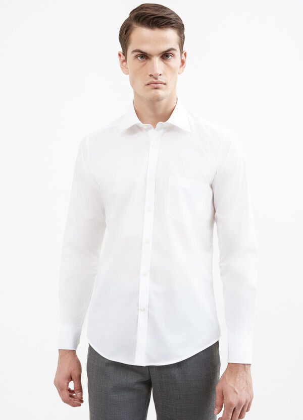 Formal shirt with bluff collar | OVS