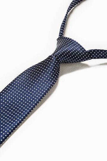 Corbata de lunares, Azul marino, hi-res