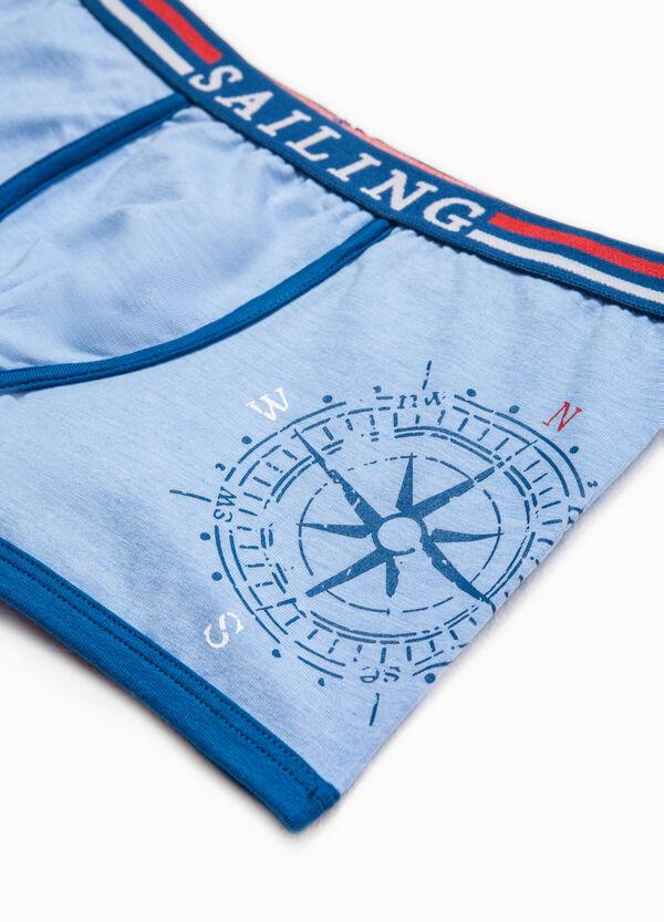 Printed Biocotton boxer shorts | OVS