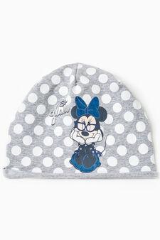 Cappello a cuffia Minnie fantasia pois, Grigio, hi-res