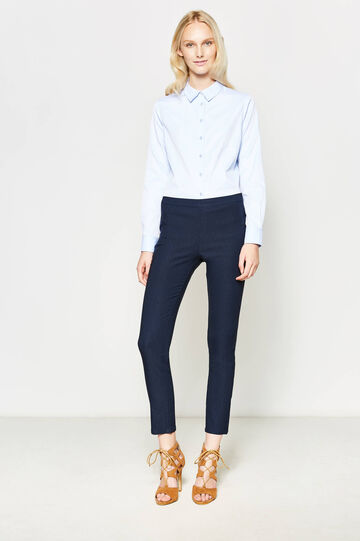 Stretch rayon trousers