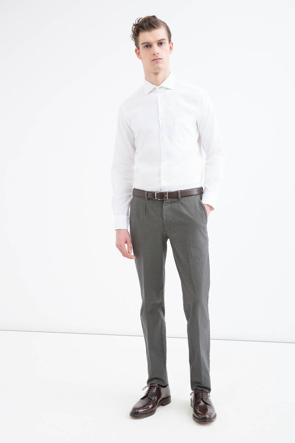 Rumford cotton trousers. | OVS